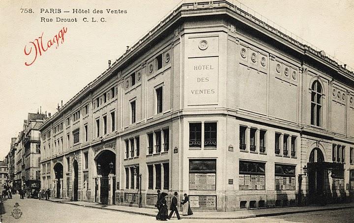 I posti de les italiens l h tel drouot enrico pandiani e les italiens - Hotel de ventes drouot ...